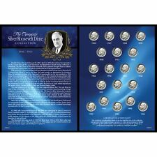 NEW Complete Silver Roosevelt Dime Collection 1946-1964 12835