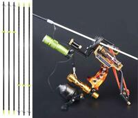 Fishing Slingshot Kit Archery Slingbow Wrist Brace & 6pcs Hunting Fish Arrows