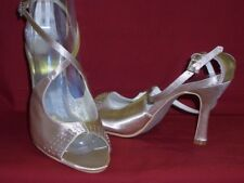 Soirée de Gala Chaussures bouts ouverts strass champagne gr. 40 mjfzj NEUF