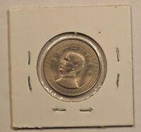 1936 China Republic 5 Cents Y# 348 UNC 民国25年伍分硬币