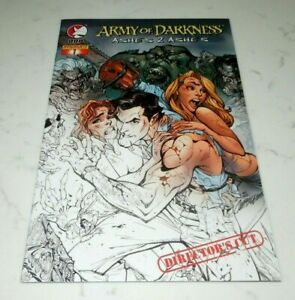ARMY OF DARKNESS: ASHES 2 ASHES # 1 Director's Cut   DDP Comics NM  2004