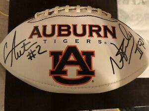 Cam Newton / Nick Fairley Autographed Auburn Football
