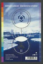 Preserve the Polar Regions and Glaciers Finland Mini Sheet, MUH