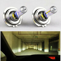 2 x H7 55W 12V Xenon Halogen Front Headlight Light Bulbs Lamp Super Bright LEDs