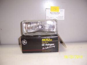 H4352 GE GUIDE HEADLAMP FITS MANY 1991-97 CAMARO/GEO/CUTLASS/GRAND PRIX  NOS