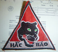 Patch - 33rd Tiger Force Rangers - Black Panthers - HAC BAO - Vietnam War - 4854