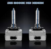 BMW X6 E71 E72 08-14 D1S Xenon Hid 35W Bulbs Ice Blue 8000K Low Beam Headlight
