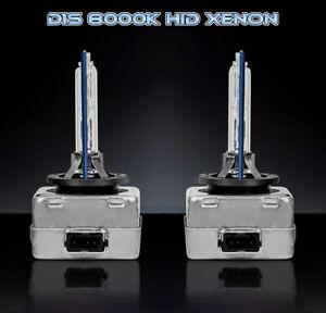 BMW E92 E93 2005-2013 D1S Xenon Hid 35W Bulbs Ice Blue 8000K Low Beam Headlight
