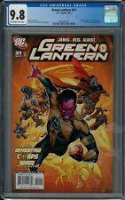 GREEN LANTERN #21 CGC 9.8 (9/07) DC comics white pages