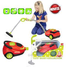 aspirapolvere giocattolo luci e suoni completa di kit pulizia funzioni reali