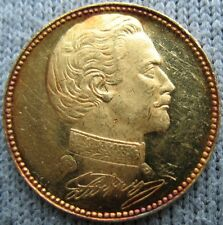 German Bavaria Ludwig II Gold Medal-Jetton Castle Herrenchiemsee 3.5g & 20mm