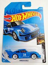 Hot Wheels Nightburnerz Porsche 934.5 - blue