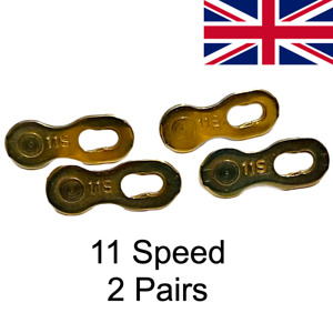 2 Pairs Quick links 11S /11 Speed Shimano SRAM KMC chains master chain link
