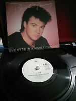"""Paul Young – Everything Must Change Vinyl 7"""" Single UK CBS A4972 1984"""