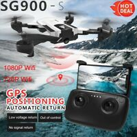 SG900-S Foldable Quadcopter 2.4GHz 720/1080P HD Camera WIFI FPV GPS Fixed Point