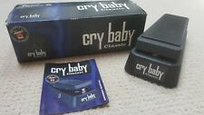 Mint Dunlop Cry Baby Classic Wah Pedal GCB95F Fasel Guitar GCB 95F True Bypass