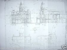 WDW Main Street City Hall Complex Blueprints