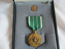 New listing Dept. Of Army Commander's Award For Civilian Service Medal w/case