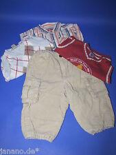 Kleiderpaket Hose Hemd Pullunder Gr 62, 68 und 74 Jungen