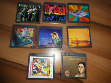 8 MINIDISC -SHAWN COLVIN,KANSAS,SIMPLY RED,THE CLASH,THE BYRDS,ROY ORBISON