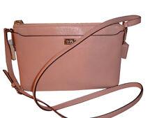 NWT Authentic Coach Madison Leather Swingpack Handbag Rose Petal 49992