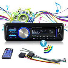 12V FM Bluetooth Car Radio Auto Audio Stereo AUX USB SD MP3 Player with ISO Plug