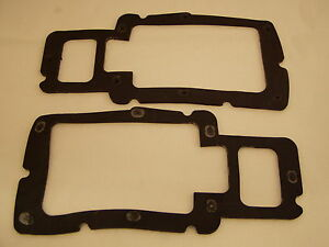 Datsun 260Z 280Z 1974-78 Tail Light Lite Rubber Seal Gasket Pair NEW L R 042 043