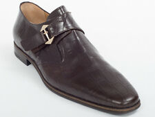 New  Cesare Paciotti Brown Leather Shoes UK 11 US 12 Retail $ 695