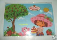 Strawberry Shortcake Placemat / Tableware (4 in 1)