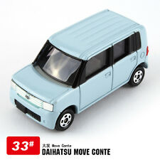 NEW JAPAN TOMICA #33 DAIHATSU MOVE CONTE DIECAST CAR MODEL 333333