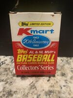 1982 *TOPPS KMART 20th ANNIVERSAY BASEBALL* COLLECTOR'S SERIES SET MICKEY MANTLE
