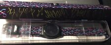SWATCH ED BANGER RECORDS 2016 SUOB702R NEW IN BOX RARE LIMITED 500PZ SIGNED!!