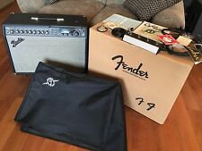 Fender Cyber-Twin Amp with Orig Docs, Tags, Pedals, Cover, Wheels, Home Use Only