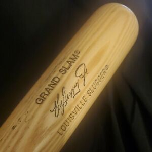"Vintage Ken Griffey Jr Louisville Slugger 180 Flame Tempered 33"" Baseball Bat"