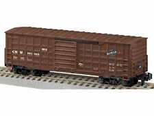 S-Gauge - American Flyer - Chicago & North Western Waffle Sided Boxcar