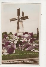 Gnomes In Rock Garden New Romney Station Kent Vintage RP Postcard 595b