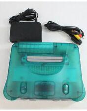 Nintendo 64 N64 Ice Blue Console *REGION UNLOCKED* Free Shipping Us Seller!