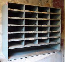 Casier de tri postal - métal - mobilier industriel - Vintage - loft