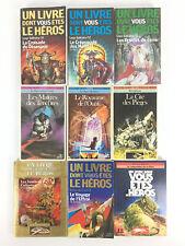 Un Livre Dont Vous Etes Le Heros Lot 9 Livres LDVELH