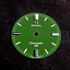 OMEGA Seamaster 120 Green 100% genuine Swiss made watch dial - NOS