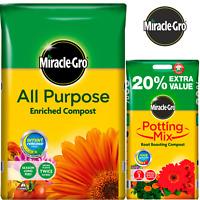 Miracle-Gro All Purpose Enriched Compost 8L 16L 20L 40L 50L Potted Plants Soil