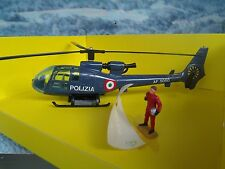 Solido (France)   HELICOPTER Police with figure #381 B