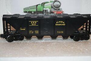 O Scale Trains Lionel Alaska Covered Hopper 9117