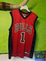 NBA Chicago Bulls Derrick Rose Jersey Small