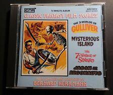 New ListingClassic Fantasy Film Bernard Herrmann Harryhausen Soundtrack Cd