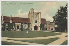 Hampshire postcard - St Cross Hospital and Grounds, Winchester