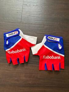 AGU Rabobank Dutch Champion Short Finger Gloves Boom Rider Issue Tour de France