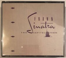 FRANK SINATRA THE CAPITOL YEARS 3 CD CAPITOL EMI 1990 USA FATBOX + BOOKLET