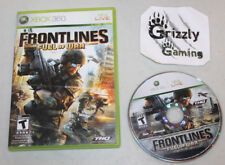 USED Frontlines Fuel of War XBOX 360 (NTSC) Tested and Working!