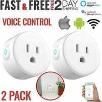 WiFi Smart Plug Power Switch Outlet Alexa Echo Smart Home APP Wireless Socket